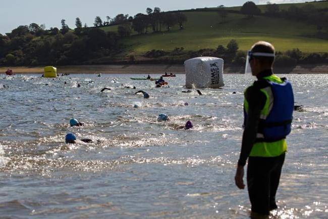 POPULAR: The Exmoor Open Swim event at Wimbleball Lake. Picture by HowaboutDave Photography
