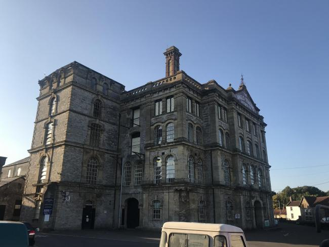 'ENDANGERED': The former Anglo-bavarian Brewery in Shepton Mallet. PICTURES: Victorian Society