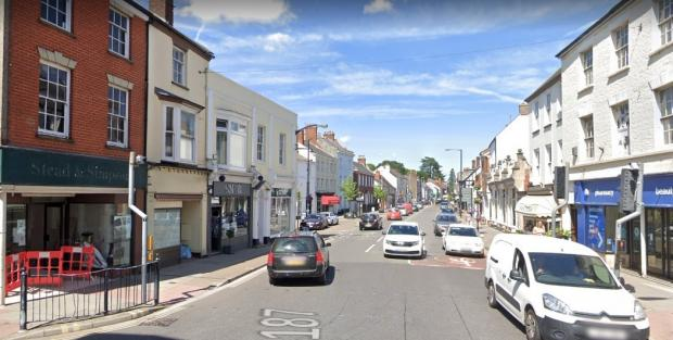 Somerset County Gazette: B3187 Fore Street In Wellington Town Centre. CREDIT: Google Maps.