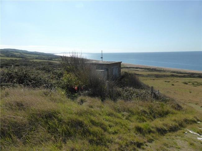 Lookout Farm overlooking Chesil Beach