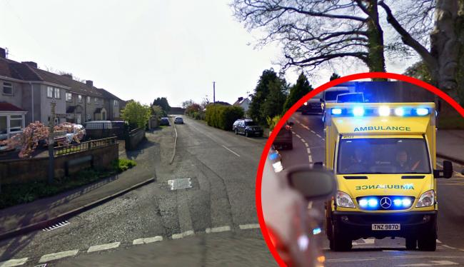 CRASH: In Stratton Road, Holcombe. PICTURE: Google Street View