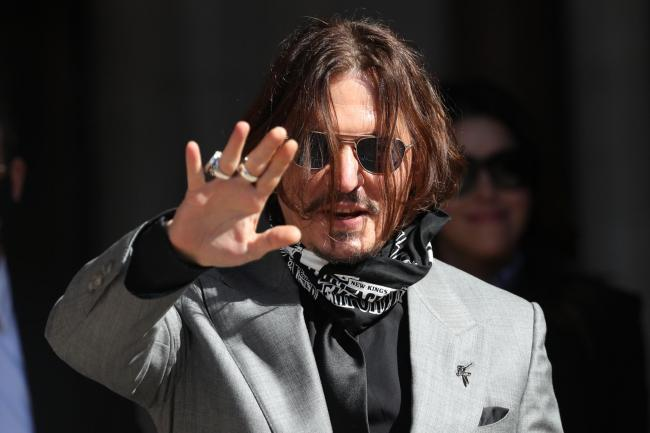 Johnny Depp loses libel case against The Sun newspaper over Amber Heard allegations. Picture: PA Wire