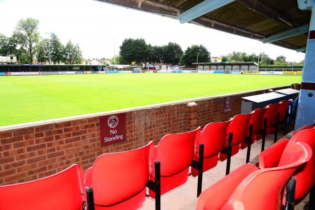 WAITING GAME: Taunton Town's Cygnet Health Care Stadium on Wordsworth Drive (pic: Steve Richardson)