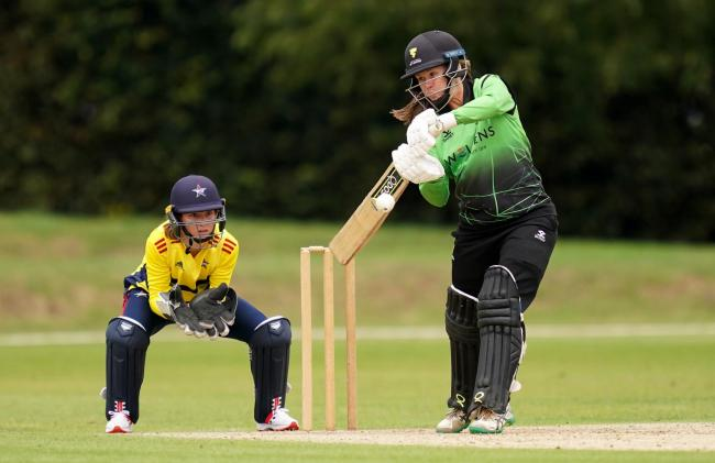 SKIPPER: Western Storm's Sophie Luff in batting action during this season's Rachael Heyhoe-Flint Trophy (pic: John Walton/PA Wire)