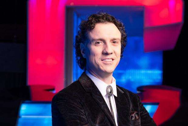 Somerset County Gazette: The new Chaser, Darragh 'The Menace' Ennis. Picture: ITV