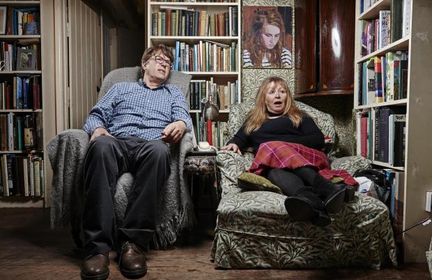 Somerset County Gazette: Giles and Mary. Picture: Channel 4