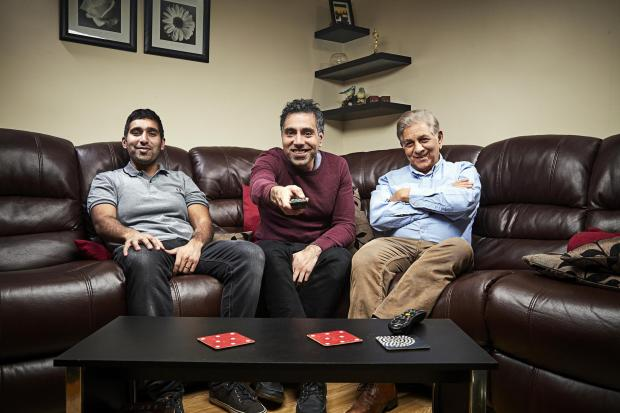 Somerset County Gazette: The Siddiqui family. Picture: Channel 4