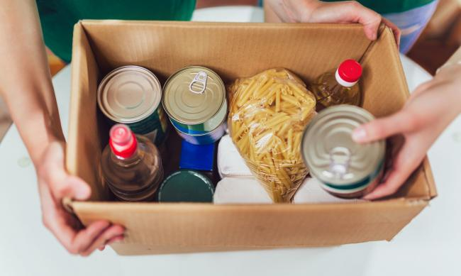Demand on Cornwall's foodbanks has risen since the start of lockdown. Picture: Getty Images