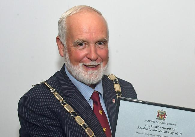 SLUR: Somerset County Council chairman Cllr Nigel Taylor