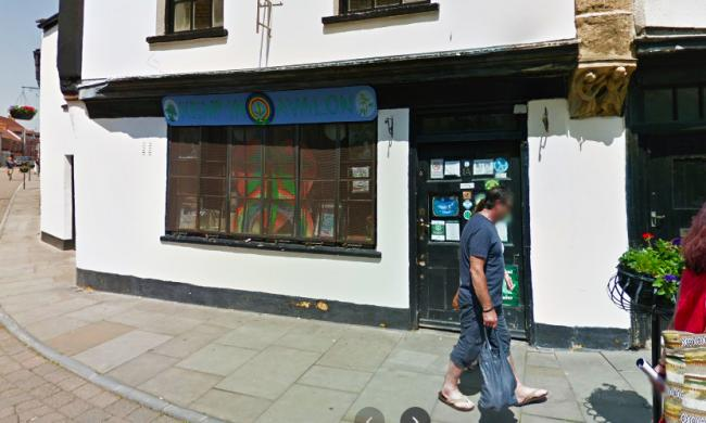 REBUKE: For the Hemp in Avalon store in Glastonbury. PICTURE: Google Street View