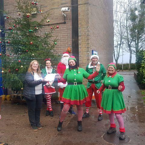 Somerset County Gazette: Posties in Taunton raise money for homeless charities