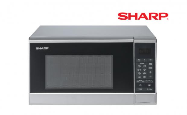 Somerset County Gazette: Sharp Microwave. (Lidl)