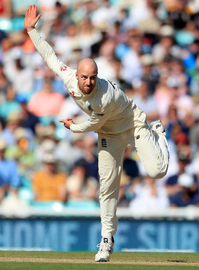 BREAKTHROUGHS: Somerset and England spinner Jack Leach (pic: PA)