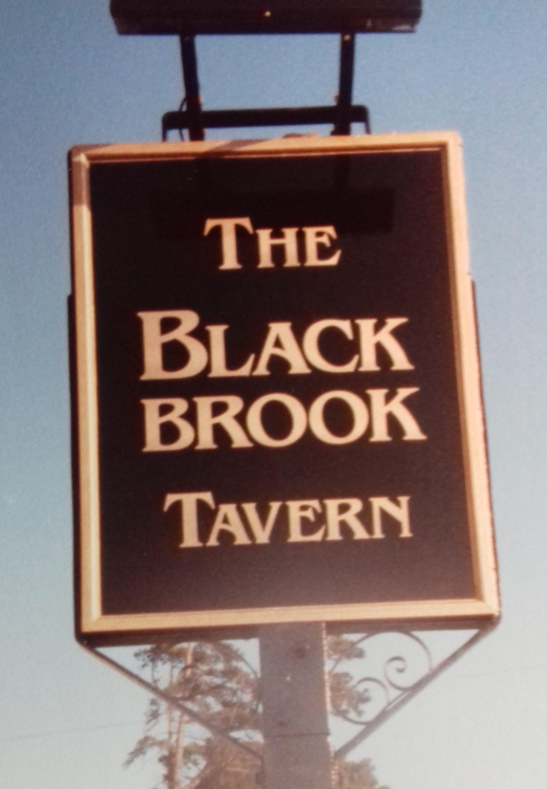 OLD SIGN: The Blackbrook Tavern