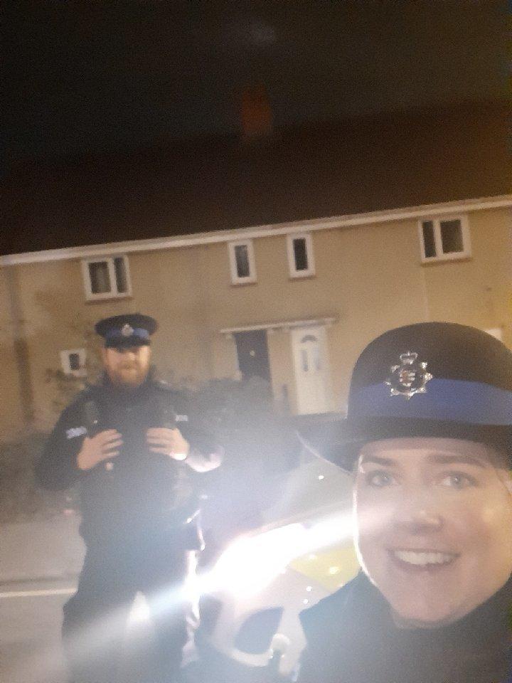 PCSO patrols in Musgrove Road