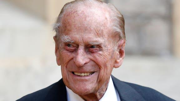 Prince Phillip, 99, admitted to hospital as a 'precautionary measure'. (PA)