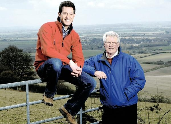Matt Baker and John Craven of BBC 1's Countryfile.