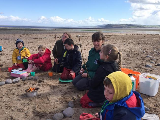 ACTIVITY: A Wild Beach session with Dunster School
