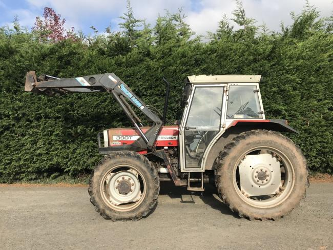 Stock image of a tractor similar to the one stolen. Picture: Dorset Police