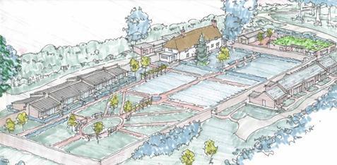 Somerset County Gazette: PLANS: Court Farm Gardens