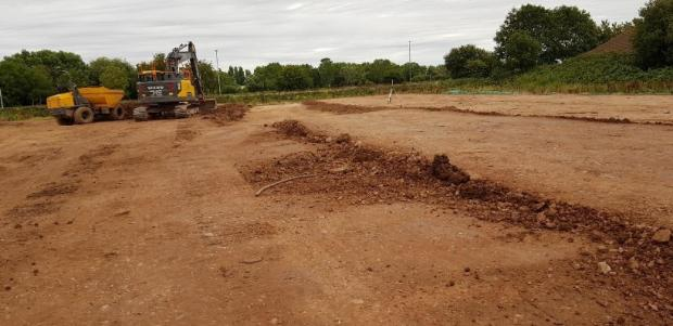 Somerset County Gazette: The Seaward Way Site In Minehead, Looking North Near Plover Close. CREDIT: Somerset West And Taunton Council. Free to use for all BBC wire partners.