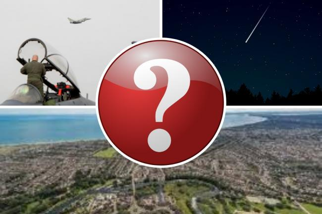 GREAT PRACTICE THEORIES: The mystery of the cause of yesterday's massive 'sound boom' in Somerset