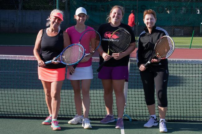 WELCOME BACK: Sports venues across Somerset - like Minehead Tennis Club - are getting ready to reopen