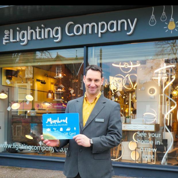 Somerset County Gazette: MINEHEAD GIFT CARD: Glenn Ross from the Lighting Company