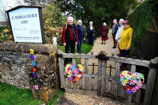 Somerset County Gazette: Corfe Church