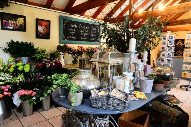 Somerset County Gazette: Loolabells Floristry, Prockters Farm, Monkton Heathfield