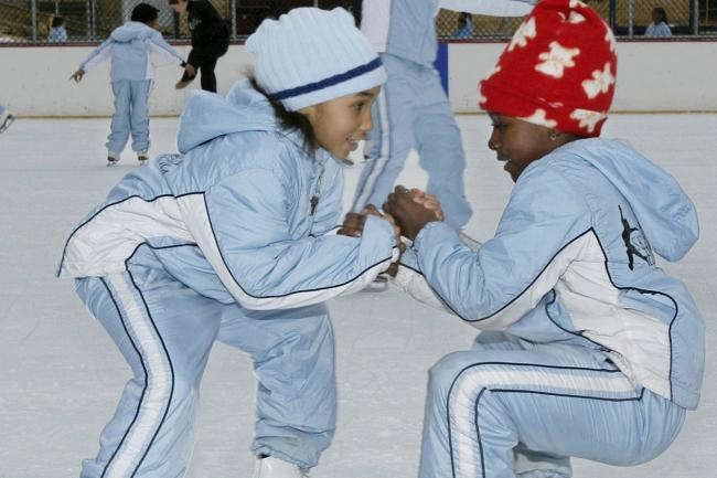 Members of Figure Skating in Harlem in 2004