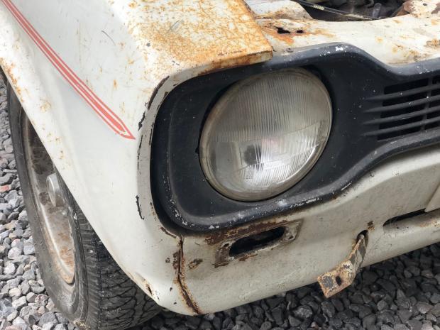 Somerset County Gazette: SURVIVORS: The 1975 Ford Escort MK1 RS2000