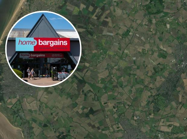 The owner of Home Bargains has bought 5,000 acres of farmland. Picture: Google Maps