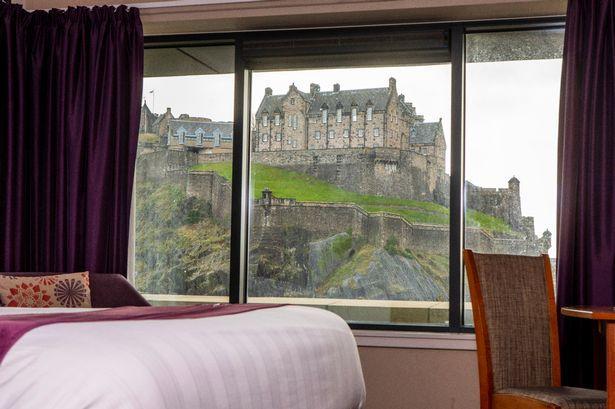Somerset County Gazette: Premier Inn Edinburgh Castle
