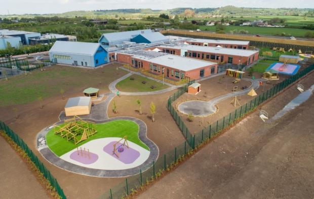Somerset County Gazette: FINISHED: The new Polden Bower SEN School in Bridgwater