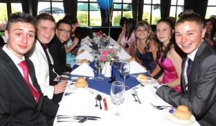 Photos from the Leavers' Prom at Court Fields Community School, Wellington, June 25, 2010