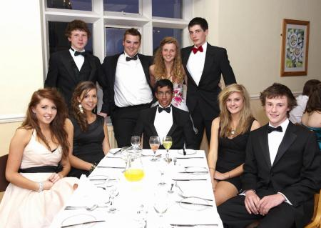 Photos from the Year 11 Prom at Taunton School, 2010