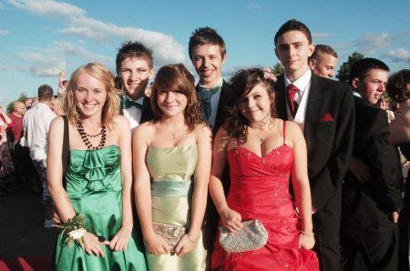 Photos from the Leavers' Prom at Ladymead Community School, Taunton, 2010