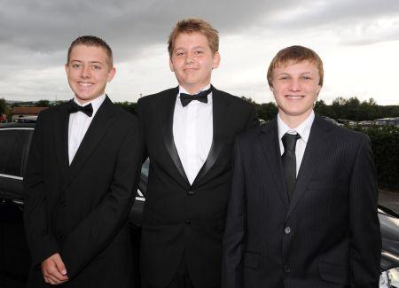 Photos from the Leavers' Prom at Bishop Fox's Community School, Taunton, 2010