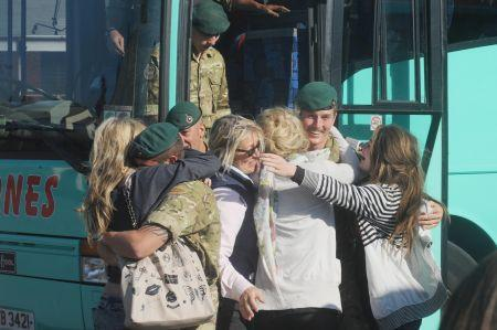 Photos from the 40 Commando Royal Marines Homecoming October 2010.