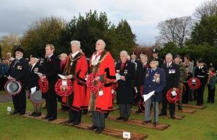 Photos from Remembrance events in Taunton, Wellington, Minehead and Wiveliscombe, 2010