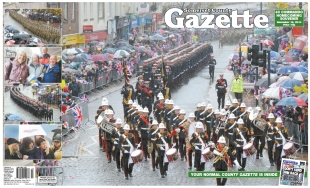 Somerset County Gazette: County Gazette Marines front