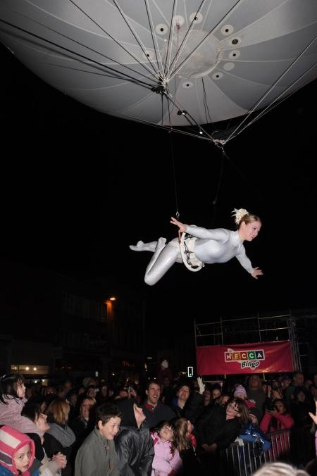 Photos from the Taunton Christmas lights switch-on, November 21, 2010