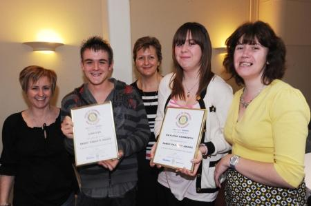 Photos from the Pride of Somerset Youth Awards 2011