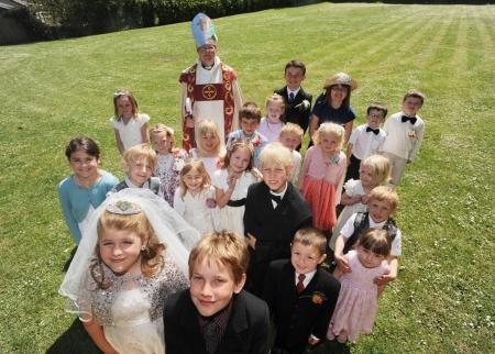 Royal Wedding Curry Rivel Primary School Somerset County