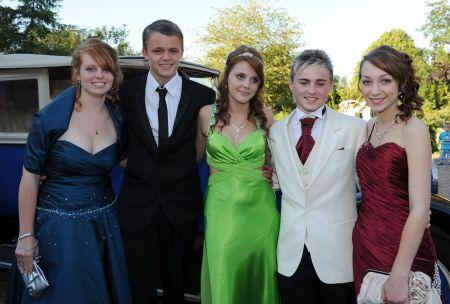 Photos from the leavers' proms of the Taunton Academy, 2011