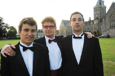 Photos from the leavers' prom at Taunton School, 2011