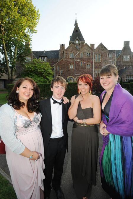 Photos from the leavers' event at King's College, Taunton, July 2, 2011