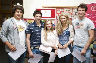 Peter Saban, Sam Vickery, Chloe Simpson, Jossie Zilkha, Henry Close from King's College.