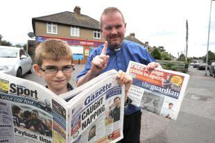 Stores refuses to sell newspaper to nine-year-old